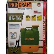 Опрыскиватель аккумуляторный Procraft AS 16