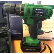 Шуруповерт аккумуляторный Craft tec PXCD-182 Li-impact ударный