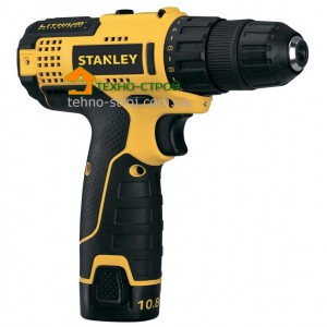 Шуруповерт Stanley STCD1081B2 (Кейс)