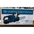 Аккумуляторная цепная пила KRAISSMANN 4000 AKS 18LI