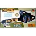 Бензопила ProCraft K450L (Новинка)
