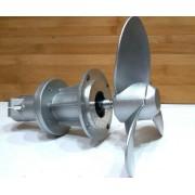 Насадка-Винт мотор лодочный для бензокос-26 мм, 9 шл