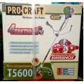 Бензокоса Procraft T5600 (двигатель 4х тактный)