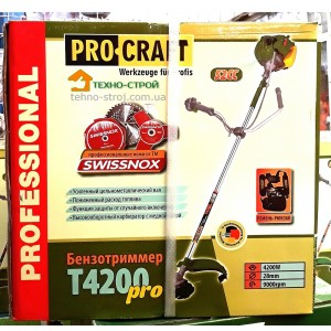 Коса бензиновая Procraft T-4200 PRO