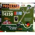 Бензокоса PROCRAFT T4350 (58 поршень)