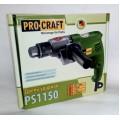 Дрель ProCraft PS 1150 (безударная)