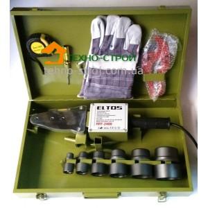 Паяльник ELTOS ППТ-2400 для пайки пластиковых труб