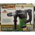 Перфоратор Procraft BH2150 пика, буры и регулировка