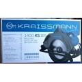 Пила дисковая KRAISSMANN  1400 KS 185