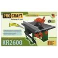 Пила стационарная ProCraft KR2600 поворотный стол