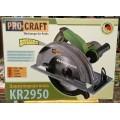 Пила циркулярная ProCraft KR 2950