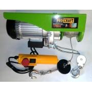 Тельфер PROCRAFT TR250 (электрический (подъемник)