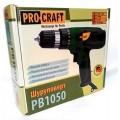 Шуруповерт PROCRAFT PB-1050