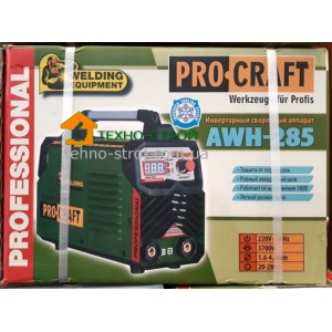 Сварка PROCRAFT AWH-285 PROFESSIONAL