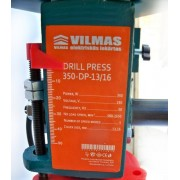 Станок сверлильный VILMAS 350-DP-13/16 (патрона 2 штуки)